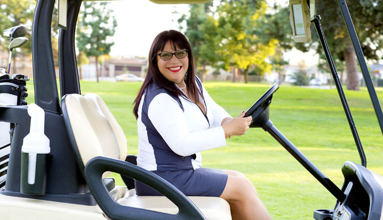 Azucena Maldonado the DIva Golfer