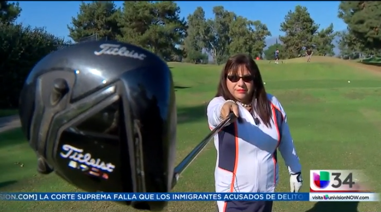 LAtina Golfers Association 2018 Univision segment