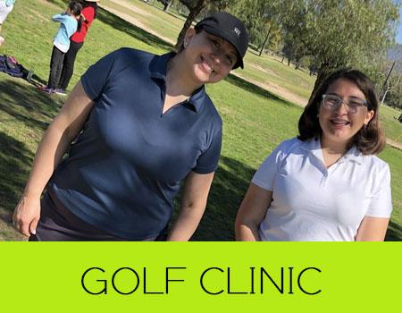 Mother/Daughter Golf Clinic   Pasadena, CA